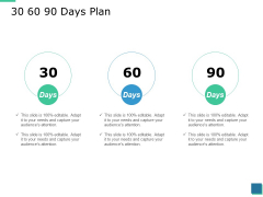 30 60 90 Days Plan Ppt PowerPoint Presentation Show Picture