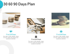 30 60 90 Days Plan Ppt PowerPoint Presentation Styles Designs