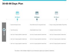 30 60 90 Days Plan Ppt PowerPoint Presentation Summary Design Inspiration