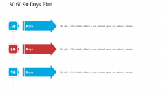 30 60 90 Days Plan Software Development Proposal Ppt Show Templates PDF