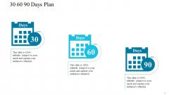 30 60 90 Days Plan Structure PDF