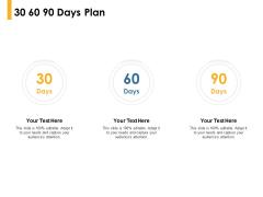 30 60 90 Days Plan Timeline Ppt PowerPoint Presentation Professional Vector