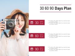 30 60 90 Days Plan Timeline Ppt PowerPoint Presentation Slides Examples