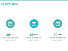 30 60 90 Days Ppt PowerPoint Presentation Professional Graphic Tips