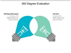 360 Degree Evaluation Ppt Powerpoint Presentation Inspiration Aids Cpb