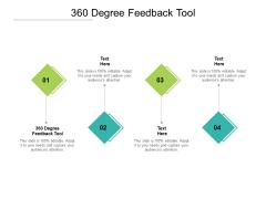 360 Degree Feedback Tool Ppt PowerPoint Presentation Infographics Display Cpb Pdf