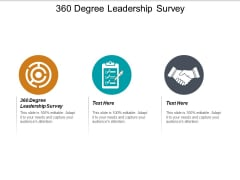 360 Degree Leadership Survey Ppt PowerPoint Presentation Pictures Sample Cpb
