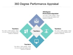 360 Degree Performance Appraisal Ppt PowerPoint Presentation Icon Templates Cpb