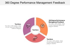 360 Degree Performance Management Feedback Ppt PowerPoint Presentation Model Display Cpb