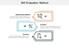 360 Evaluation Method Ppt PowerPoint Presentation Ideas Designs Download Cpb