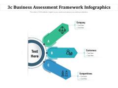 3C Business Assessment Framework Infographics Ppt PowerPoint Presentation Portfolio Information PDF