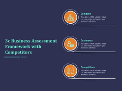 3C Business Assessment Framework With Competitors Ppt PowerPoint Presentation Slides Guide PDF