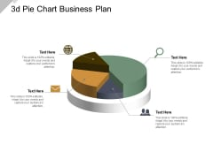 3D Pie Chart Business Plan Ppt PowerPoint Presentation Model Guidelines
