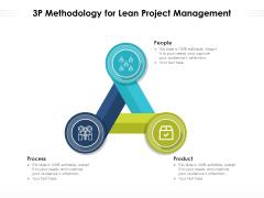 3P Methodology For Lean Project Management Ppt PowerPoint Presentation Slides Vector PDF