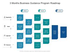 3 Months Business Guidance Program Roadmap Designs
