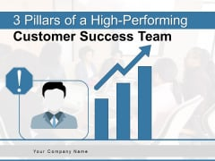 3 Pillars Of A High Performing Customer Success Team Ppt PowerPoint Presentation Complete Deck
