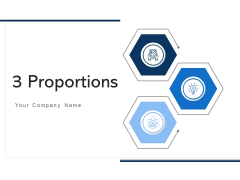 3 Proportions Plan Strategy Ppt PowerPoint Presentation Complete Deck