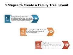 3 Stages To Create A Family Tree Layout Ppt PowerPoint Presentation Gallery Professional PDF