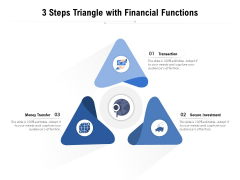 3 Steps Triangle With Financial Functions Ppt PowerPoint Presentation File Ideas PDF