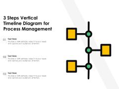 3 Steps Vertical Timeline Diagram For Process Management Ppt Inspiration Ideas PDF