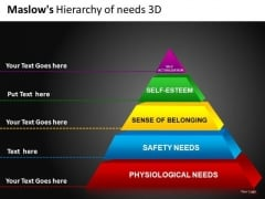 3 Dimensional Pyramid Diagrams For PowerPoint