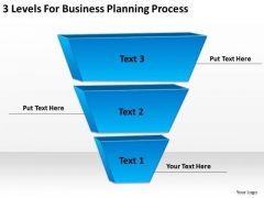 3 Levels For Business Planning Process Example Of Good PowerPoint Slides