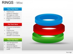 3 Rings Stacked PowerPoint Slides And Ppt Diagram Templates