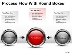 3 Stage Process Flow Circular PowerPoint Slides And Ppt Diagram Templates