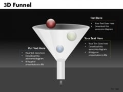 3 Stages Customer Sales Funnel PowerPoint Templates Ppt Slides