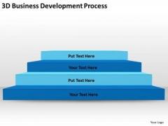3d Business Development Process Ppt Plan PowerPoint Templates