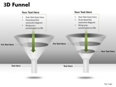 3d Funnel PowerPoint Diagram Slides Ppt Templates