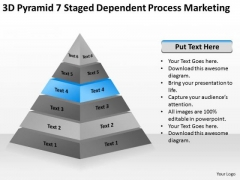 3d Pyramid 7 Staged Dependent Process Marketing Ppt Business Plan Help PowerPoint Slides
