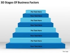 3d Stages Of Business Factors Ppt Plan Template PowerPoint Templates