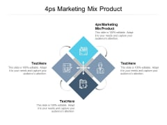 4Ps Marketing Mix Product Ppt PowerPoint Presentation Gallery Slides Cpb Pdf