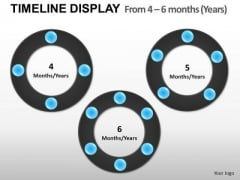 4 6 Months Years Planning Time PowerPoint Slides And Ppt Diagram Templates