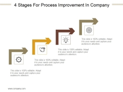 4 Stages For Process Improvement In Company Ppt PowerPoint Presentation Images