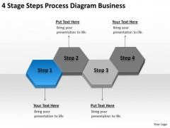 4 Stage Steps Process Diagram Business Ppt Example Of Plan PowerPoint Slides