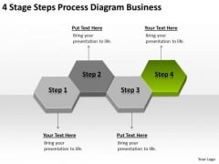 4 Stage Steps Process Diagram Business Ppt Plan Structure PowerPoint Slides