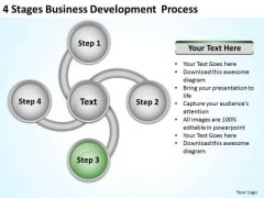 4 Stages Business Development Process Ppt Plan Examples PowerPoint Templates