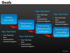 4 Stages Steps Process Diagram PowerPoint Slides