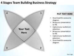 4 Stages Team Building Marketing Concepts Ppt Actual Business Plan Examples PowerPoint Templates