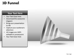 4 Step Funnel Diagram PowerPoint Templates
