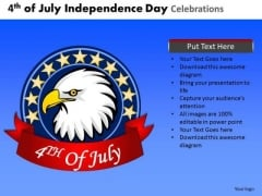 4th July American Independence Day PowerPoint Presentation Slides