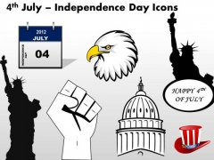 4th July Independence Day Ppt Presentation Slides