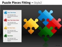 4th Piece Puzzle Solution PowerPoint Slides And Editable Ppt
