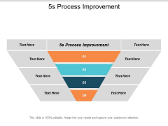 5S Process Improvement Ppt PowerPoint Presentation Ideas Images Cpb