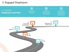 5 Pillars Business Long Term Plan 3 Engaged Employees Ppt Outline Styles PDF