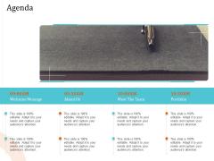 5 Pillars Business Long Term Plan Agenda Ppt Outline Slideshow PDF