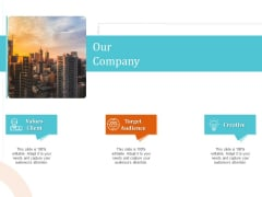 5 Pillars Business Long Term Plan Our Company Ppt Styles Format Ideas PDF