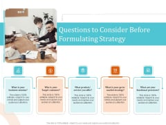 5 Pillars Business Long Term Plan Questions To Consider Before Mulating Strategy Download PDF